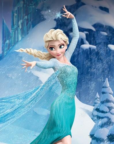 《冰雪奇缘》 壁纸 called Elsa