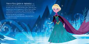 Elsa's icy magic book