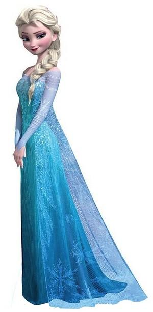 Elsa standing