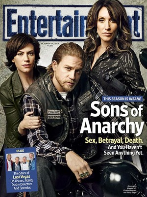 Entertainment Weekly Cover - October 18, 2013