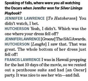 Entertainment Weekly--Joshifer