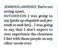 Entertainment Weekly--Joshifer - jennifer-lawrence-and-josh-hutcherson photo