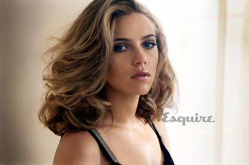 Scarlett Johansson wallpaper with attractiveness and a portrait entitled Esquire