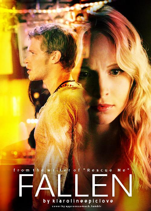 Fallen - Klaus & Caroline Fan Art (35738701) - Fanpop