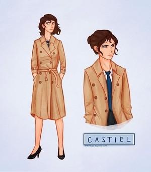 Female Castiel