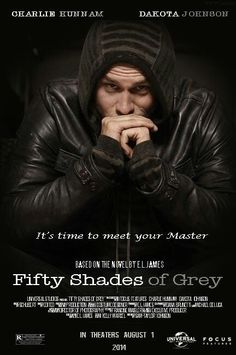 Fifty Shades of Grey/Christian Grey fanmade poster