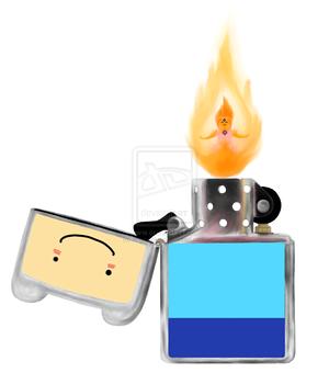 Finn lighter... :3