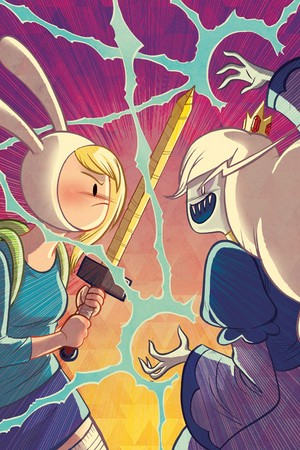 Fionna vs Ice クイーン