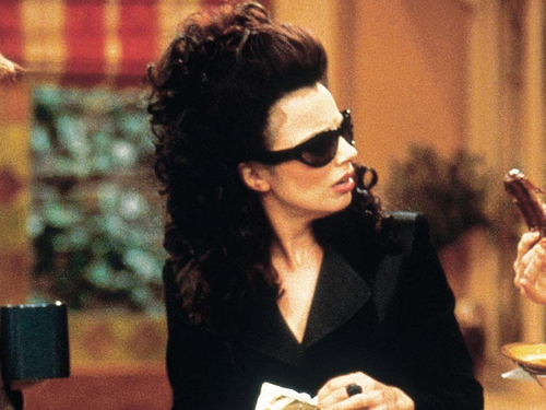 The Nanny wallpaper containing a business suit called Fran
