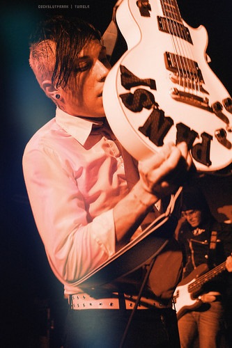 Frank Iero wallpaper possibly containing a guitarist called Frank Iero
