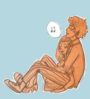 Frankie x Holt cuddle 사랑