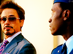 Friendships ➝ Tony & Rhodey