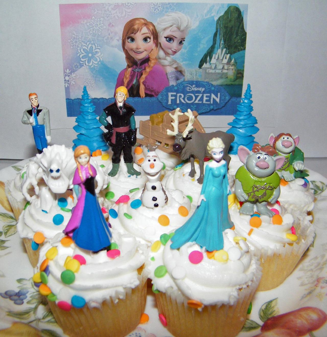 Cake Decorating Frozen Movie : Frozen Cake Toppers - Frozen Photo (35792278) - Fanpop
