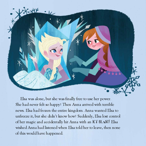 Frozen Elsa's Icy Magic Book