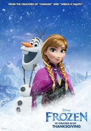Холодное сердце New Movie Posters