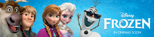 Frozen UK Disney Store Banner
