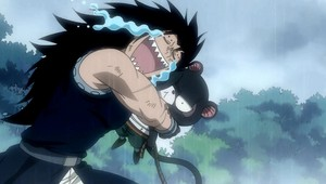 Gajeel and Pantherlily