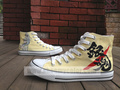 Gintama anime hand painted shoes - gintama fan art