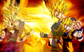 dragon-ball-z - Goku & Gohan Wallpaper wallpaper