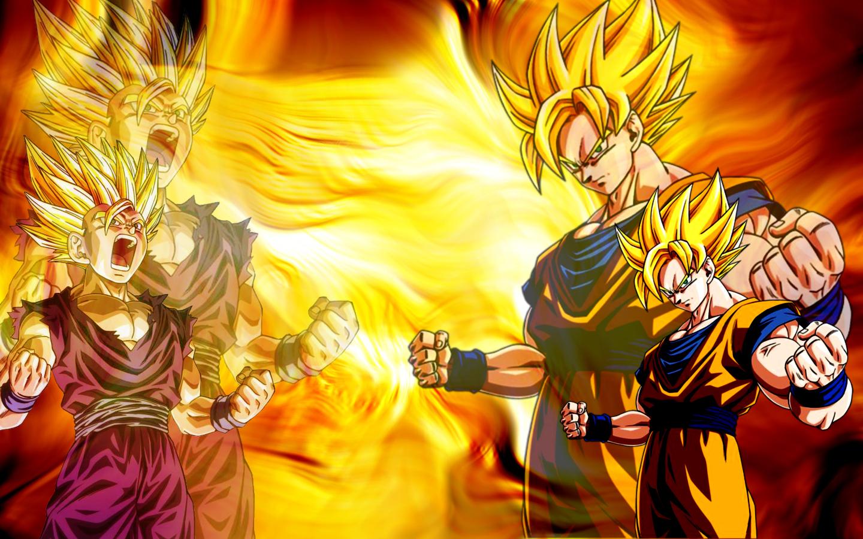 Dragon Ball Z Wallpapers Gohan: Goku & Gohan Fond D'écran