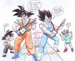 Гоку Vegeta and the others!!!