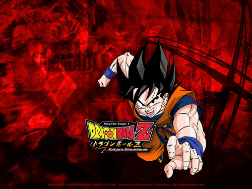 Dragon Ball Z wallpaper possibly with Anime titled Goku wallpaper