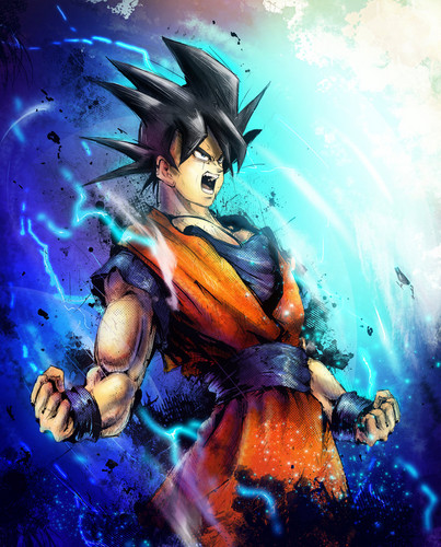 Dragon Ball Z wallpaper possibly containing Anime titled Goku