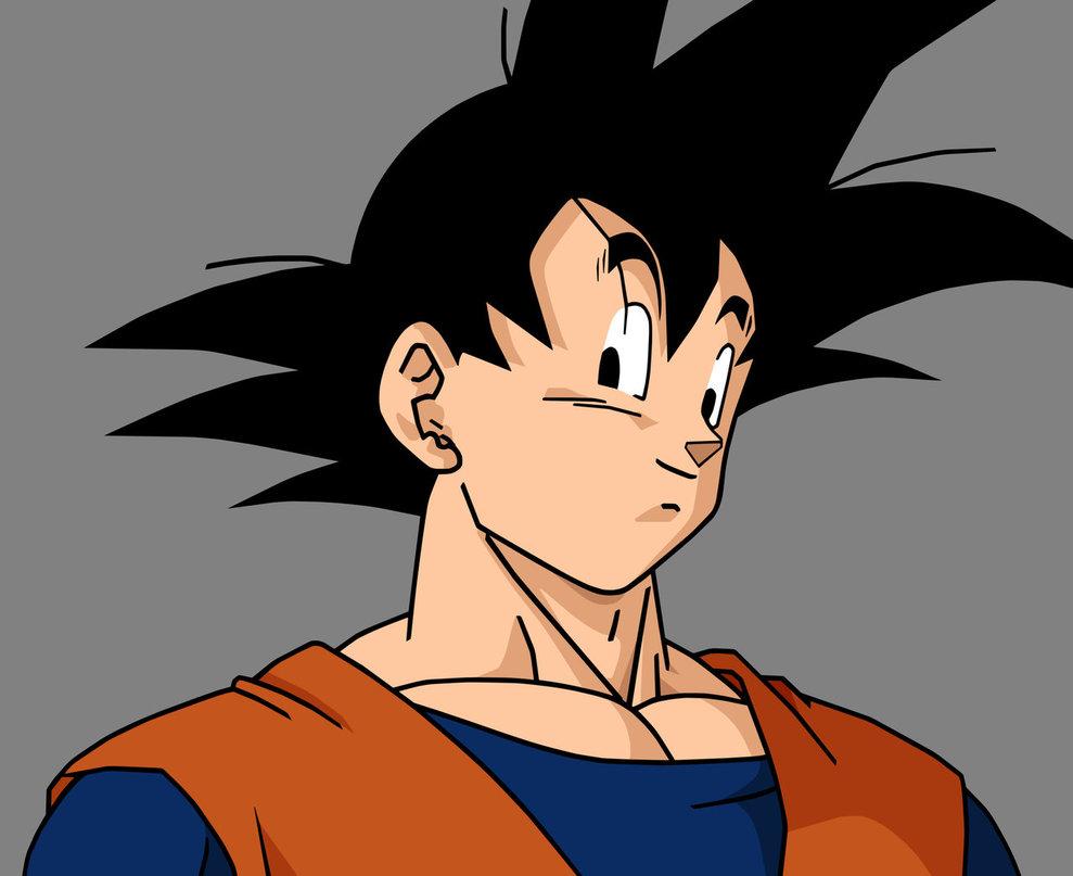 Dragon Ball z Goku Normal Goku Dragon-ball-z Fan Art