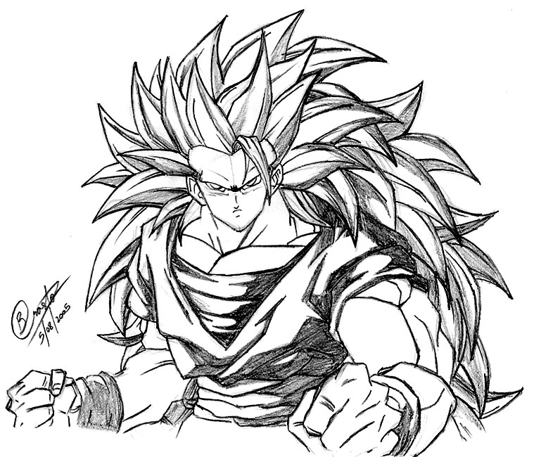Goku Fan Art Goku Foto 35791749 Fanpop