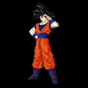 Goku shabiki art