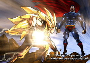 Goku tagahanga art