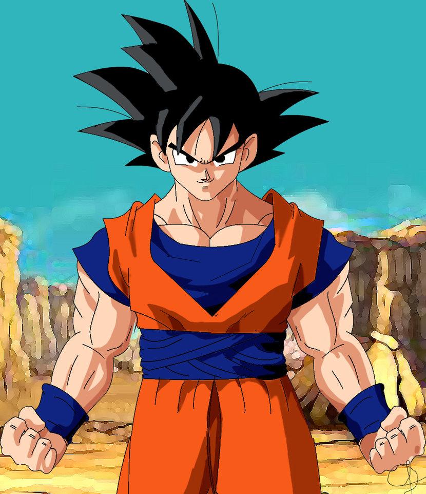 Goku fan art - goku Photo Goku