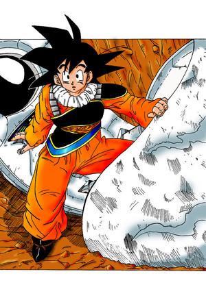 Goku fan art