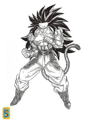 Goku پرستار art