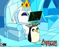 Gunter as the Game Stand - gunter-from-adventure-time photo