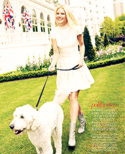 Gwyneth for Vogue Mexico | October 2013
