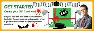 E-Gift Card for this Halloween by PhotoStudioSupplies