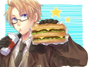 Hamburger lover!