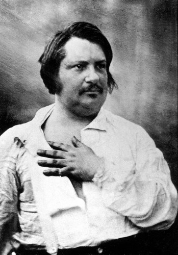 Poets & Writers wallpaper probably with a business suit called Honoré de Balzac