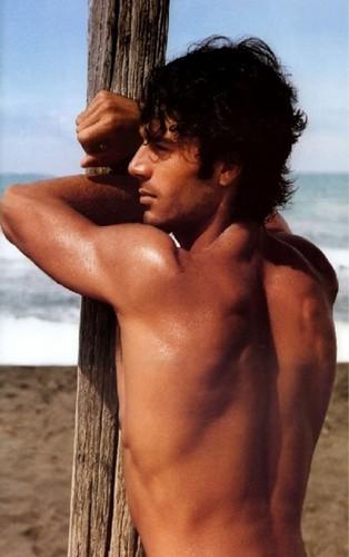 Hottest Actors wallpaper containing a hunk titled Hot Italian Actors