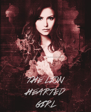I must become a lion hearted girl Ready for a fight Before I make the final sacrifice