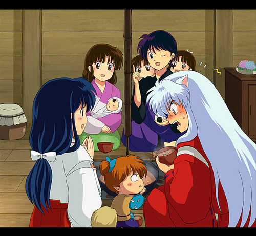 Inuyasha.:The Final Act:. Hintergrund containing Anime titled InuYasha