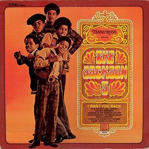 "Jackson 5 1969 Motown Debut Release, ""Diana Ross Presents The Jackson 5"""