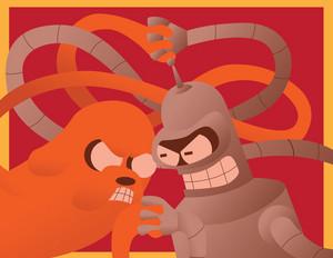 Jake vs Bender