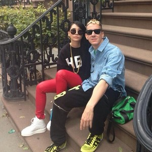 Jeremy Scott and CL (130917)