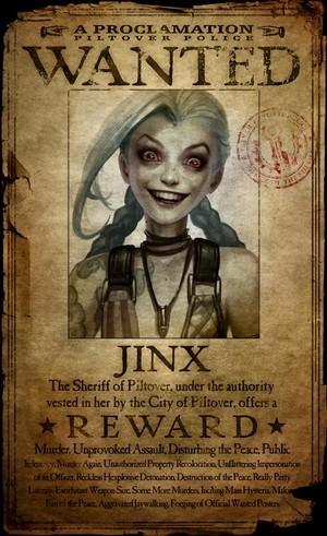 Jinx WANTED