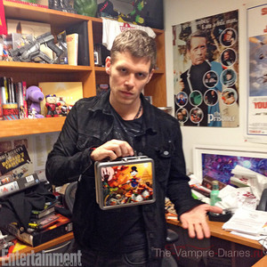 Joseph morgan behind the scenes with Entertainment weekly