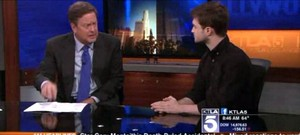 KTLA 5 MORNING NEWS (Fb.com/DanielRadcliffefanClub)