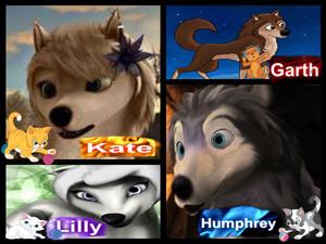 Kate, Humphrey, Garth, Lilly