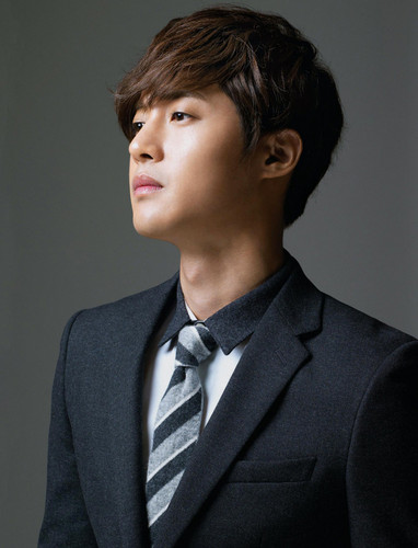 Kim Hyun Joong wallpaper with a business suit and a suit called Kim Hyun Joong<3